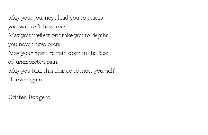 meet yourself all over again
