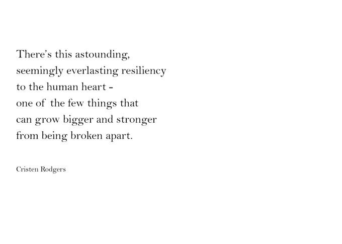 astounding resiliency