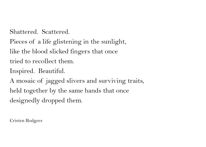 shattered and scattered