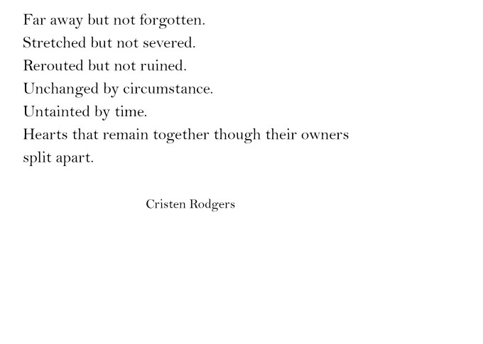 cristen rodgers quotes