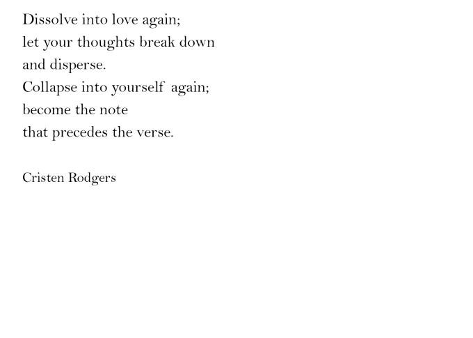 that precedes the verse